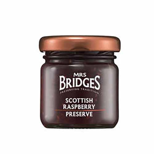 Vadelmahillo Scottish Raspberry Preserve Mrs Bridges 42g