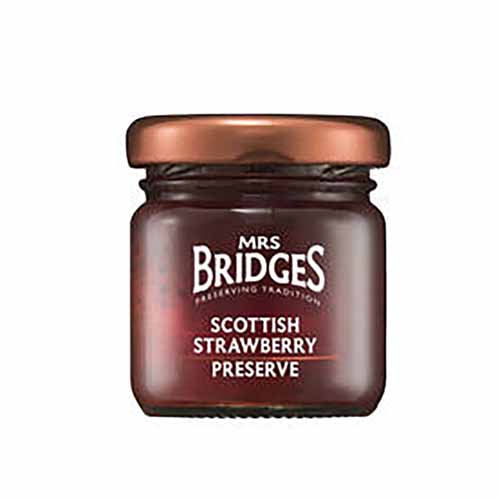 Mansikkahillo Scottish Strawberry Preserve Mrs Bridges 42g