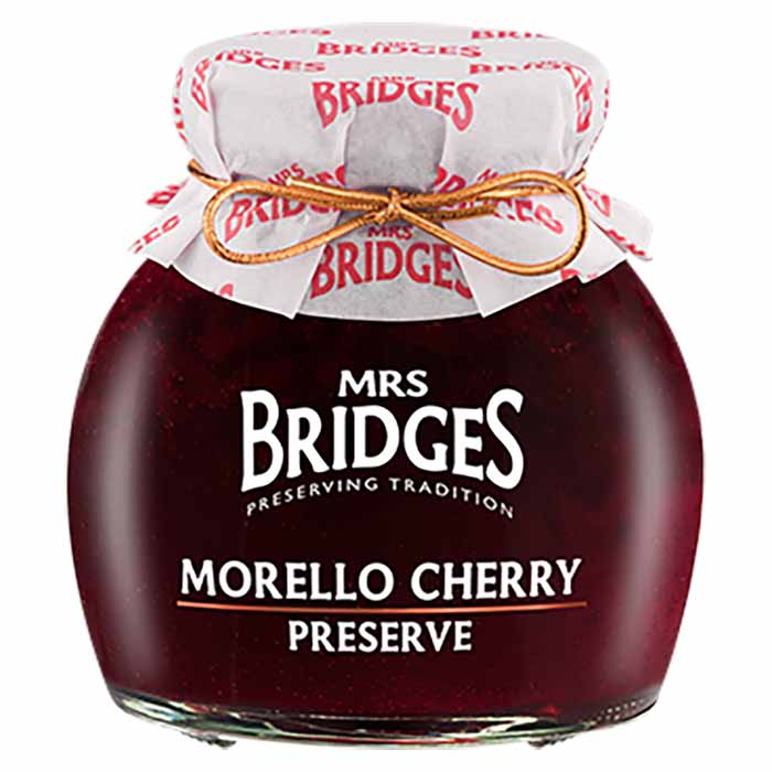 Morello-Kirsikkahillo Mrs Bridges 340g
