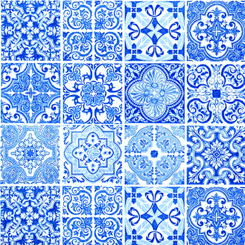 Servetti Blue tiles