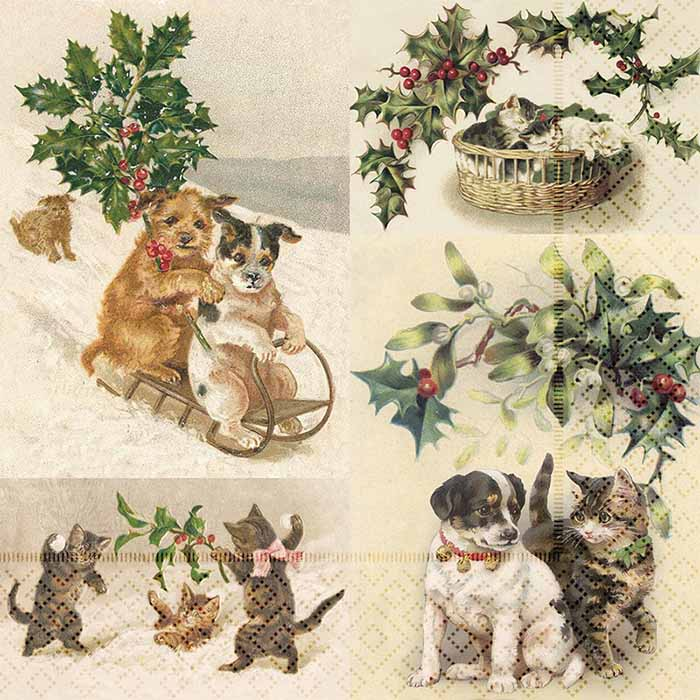 Servetti Christmas animals