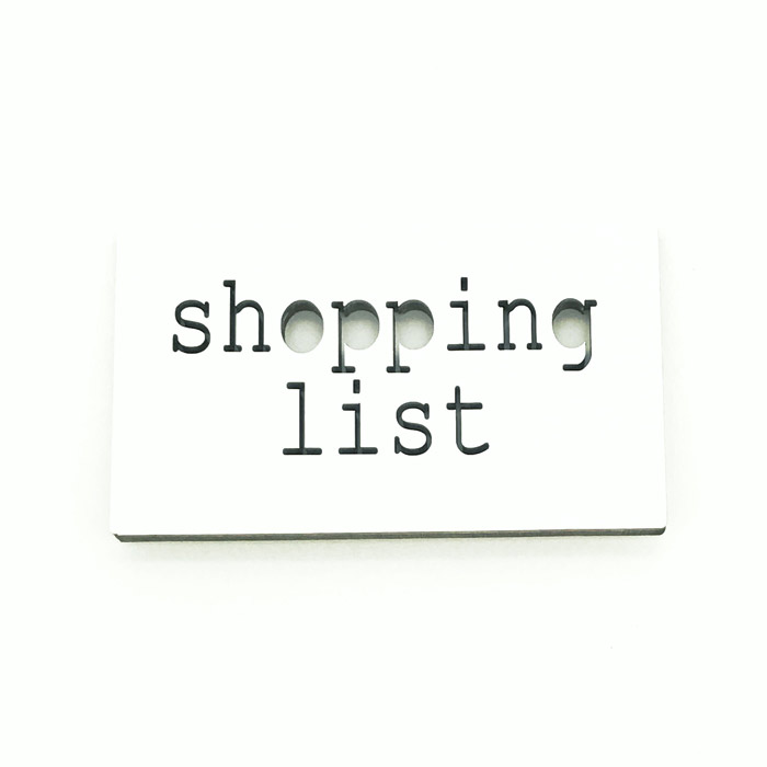 Magneetti Shopping list