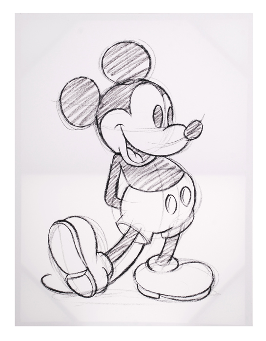 Canvastaulu Mickey Mouse