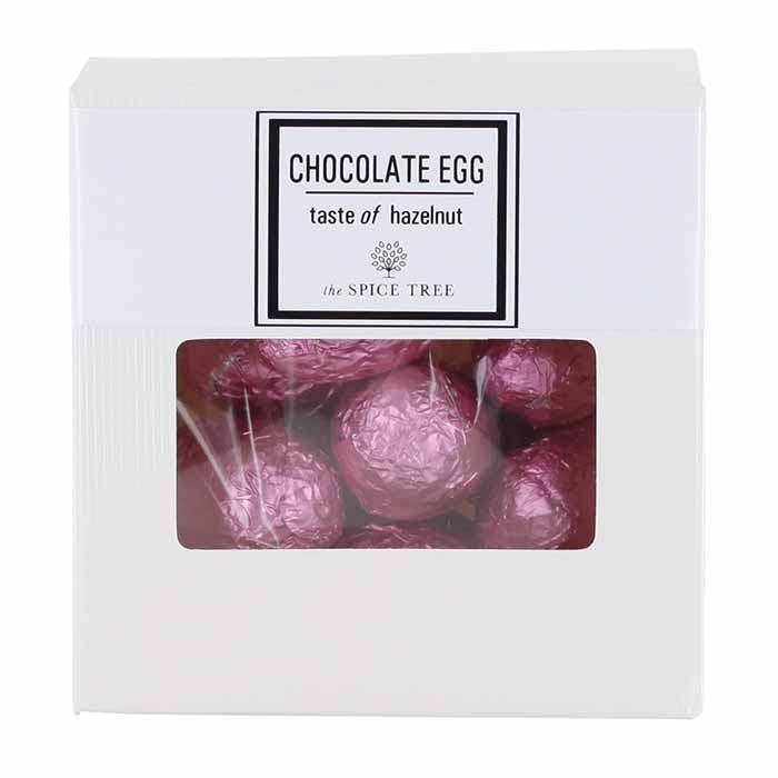Chocolate Hazelnut Eggs pinkki 150g