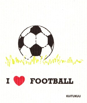 I Love Football tiskirätti