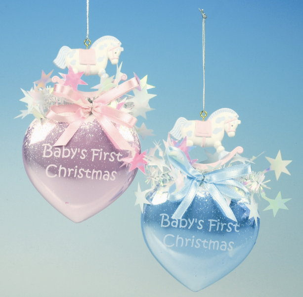 Home by piia for Baby s first christmas decoration