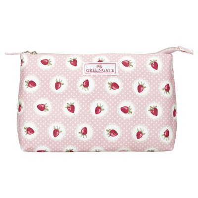 GreenGate meikkipussi Strawberry iso