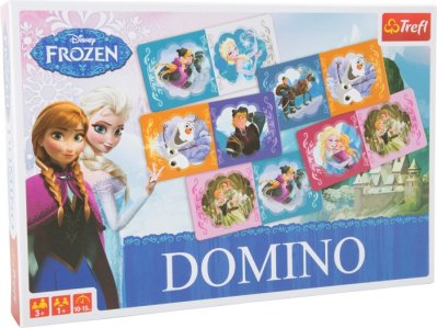 Dominopeli Frozen