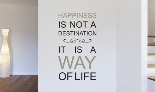 Happiness Is A Way